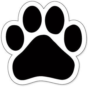 Bulldog Paw Print - ClipArt Best