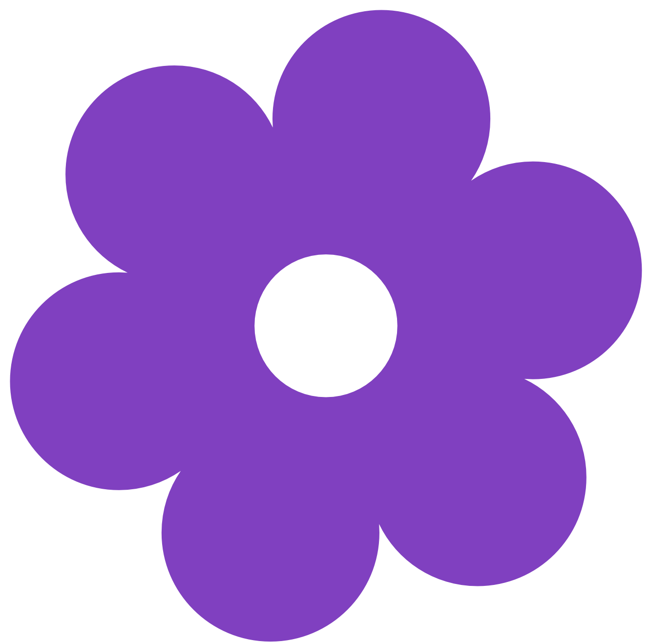 Clip Art Purple Flower Clipart purple flower clipart best retro free download clip art on purple
