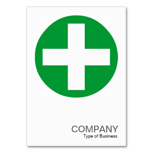 Square Photo 0155 - Big Plus Sign - Green Business Card Templates ...