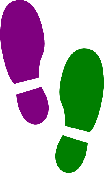 Footprint Template Printable - ClipArt Best