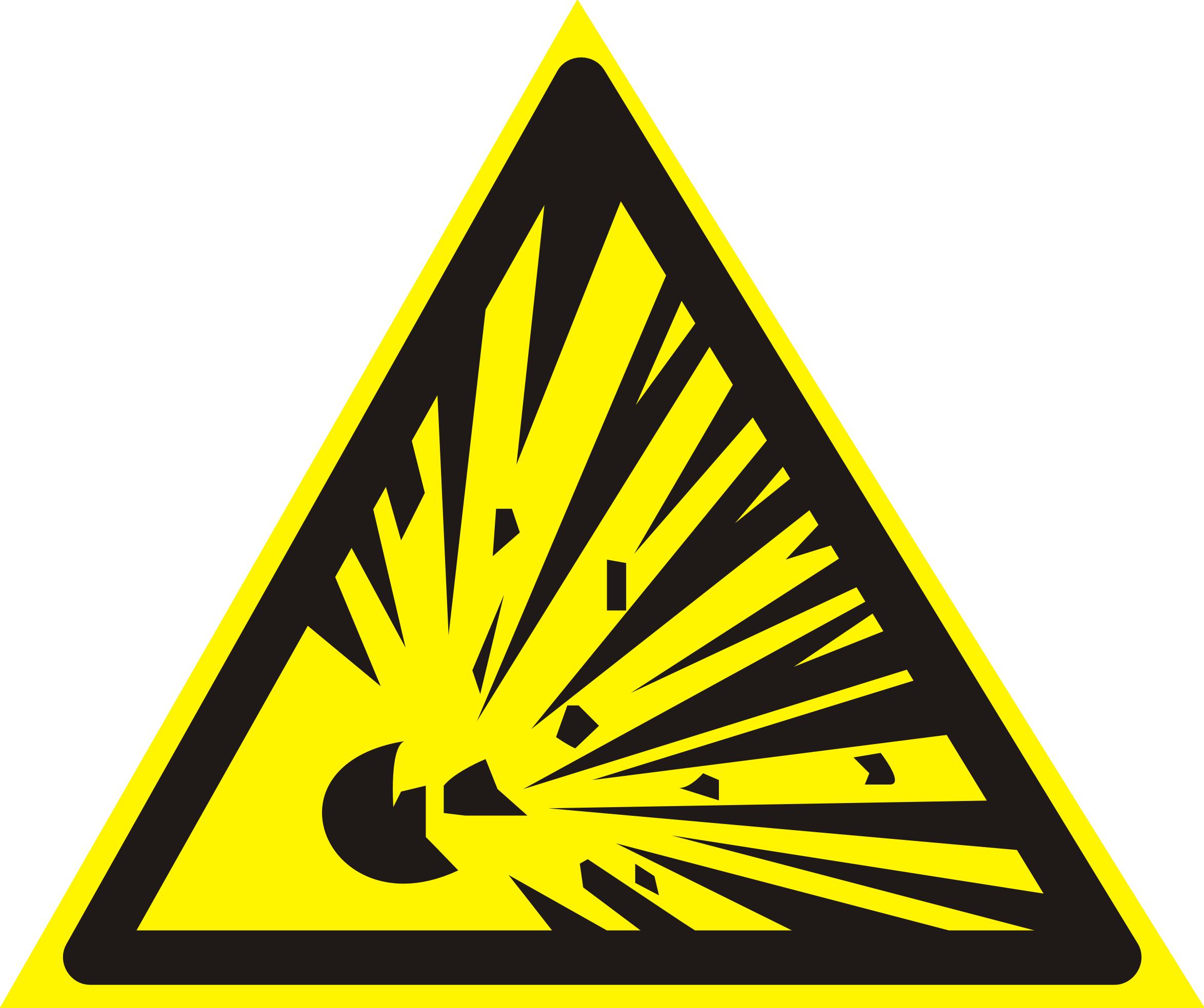 Explosive symbolExplosive Symbol Vector