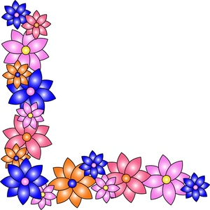 Free Flower Clipart Borders - ClipArt BestSpring Page Border Clipart