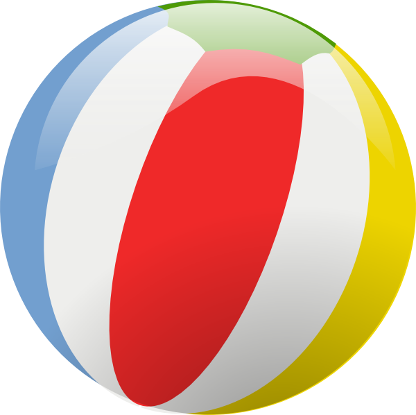 Picture Of A Beach Ball - ClipArt Best