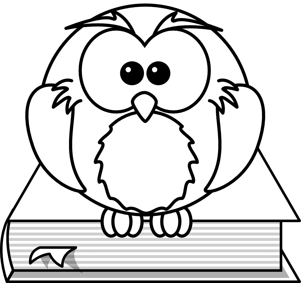cartoon owl coloring pages clipart best cute school owls clipart cute school owls clipart