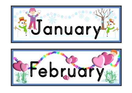 Months Of The Year - ClipArt Best