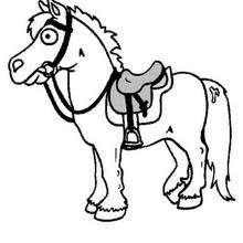 Horses Coloring Pages Galloping Horse Clipart Best