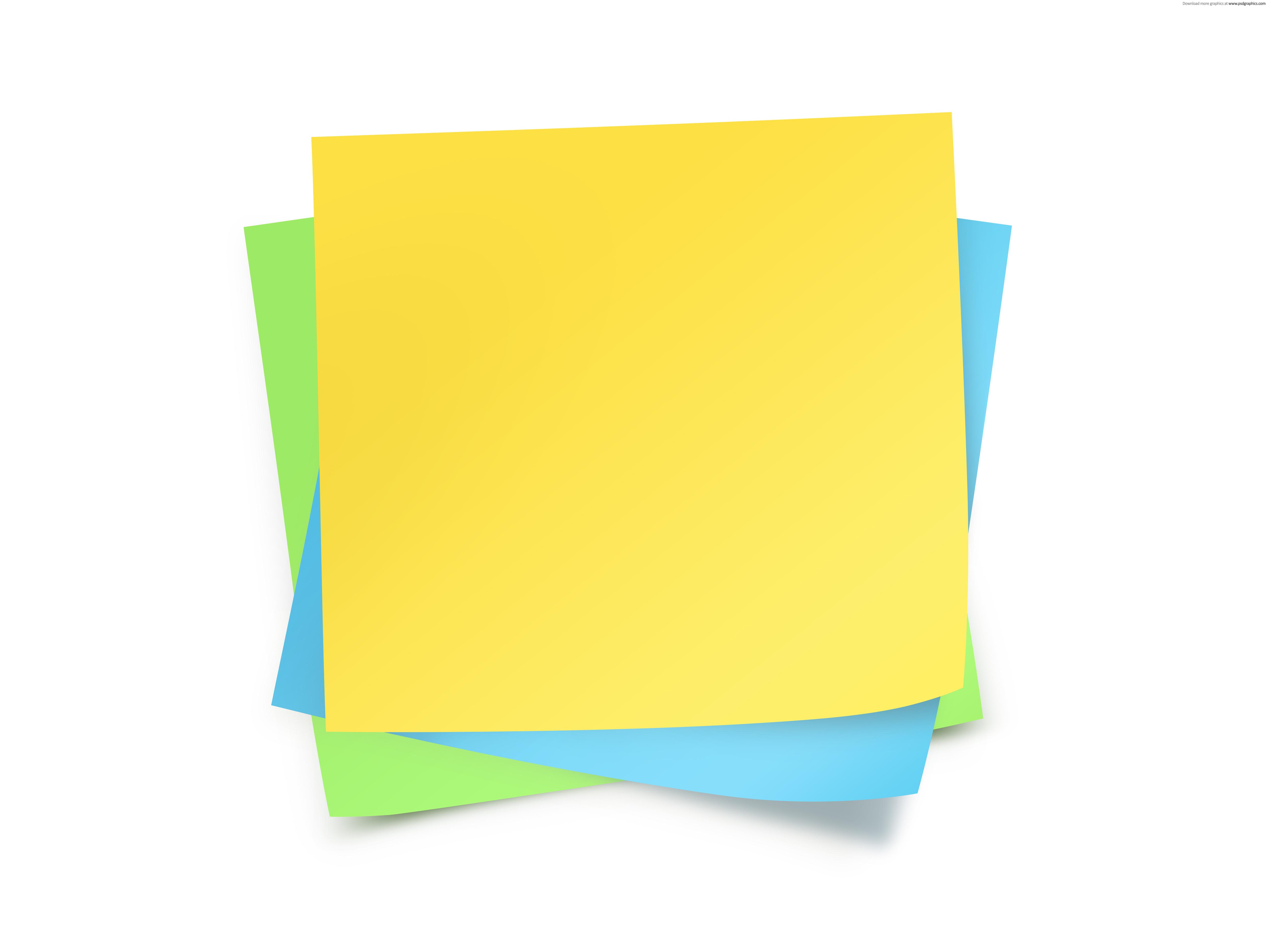 Blank Sticky Note - ClipArt Best