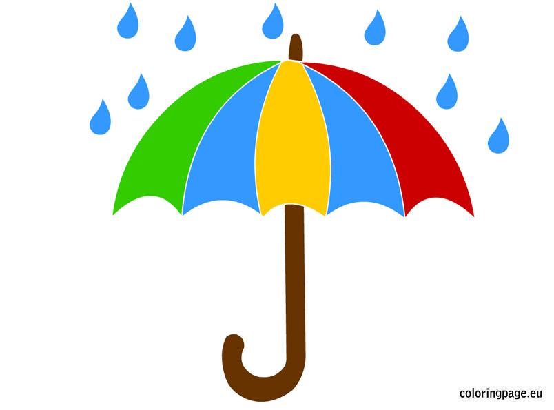 rainbow umbrella clip art - photo #30