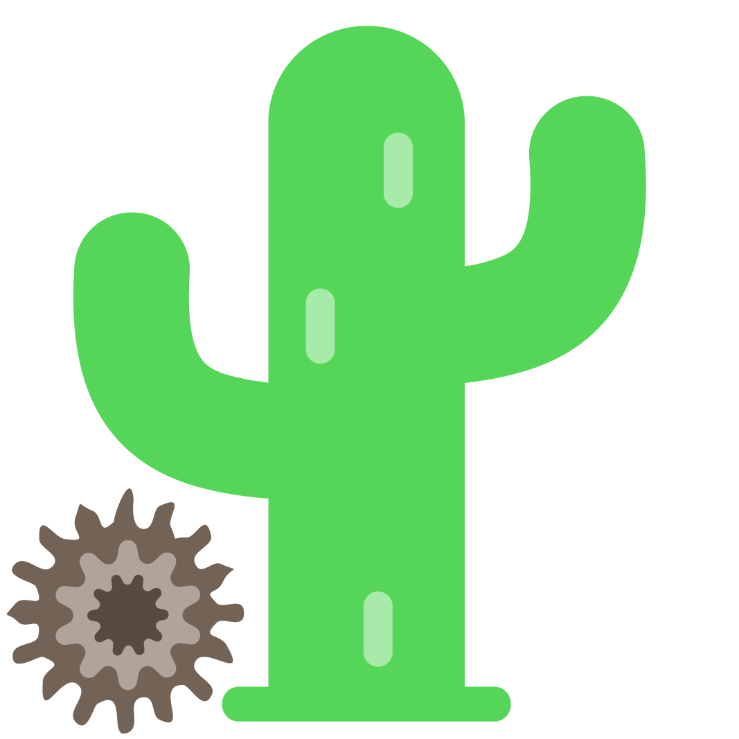 Cactus and Tumbleweed | Animated Vector Graphic - ClipArt Best ...