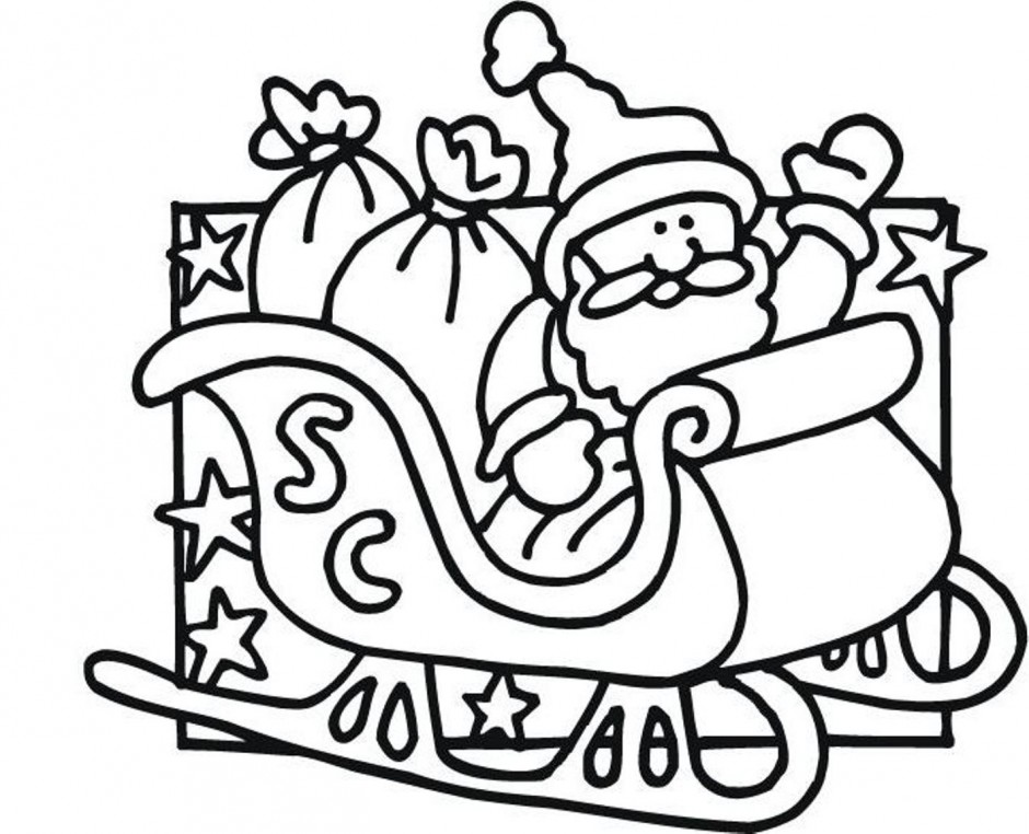 phelous santas slay coloring pages - photo#31