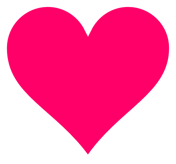 Hot Pink Floating Hearts Clipart - ClipArt Best - ClipArt Best