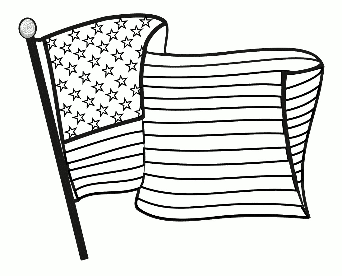 Memorial Day Black And White Clipart