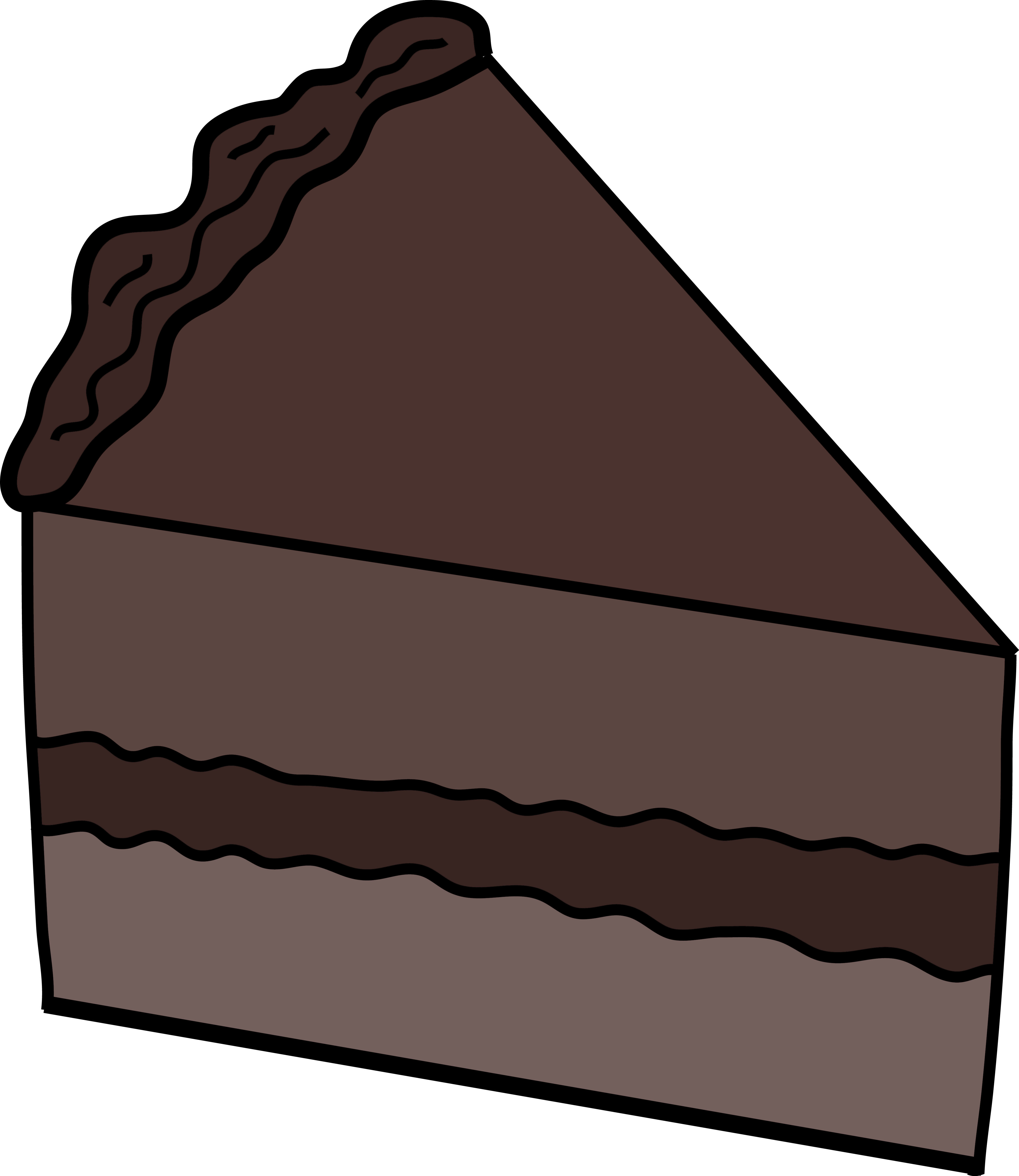 Cake Drawing Clip Art : Chocolate Cake - ClipArt Best