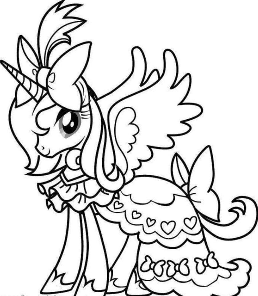 baby unicorn coloring pictures unicorn clipart coloring pages difficult to color clipartfest
