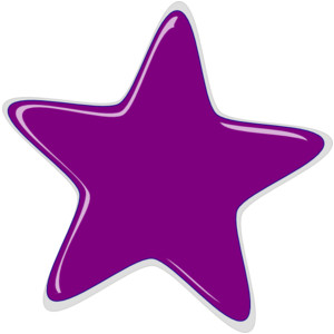 Purple Stars Clipart - ClipArt Best