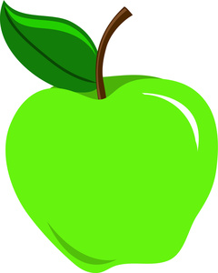 Green Apple Clipart Image - Sour Green Apple - ClipArt ...