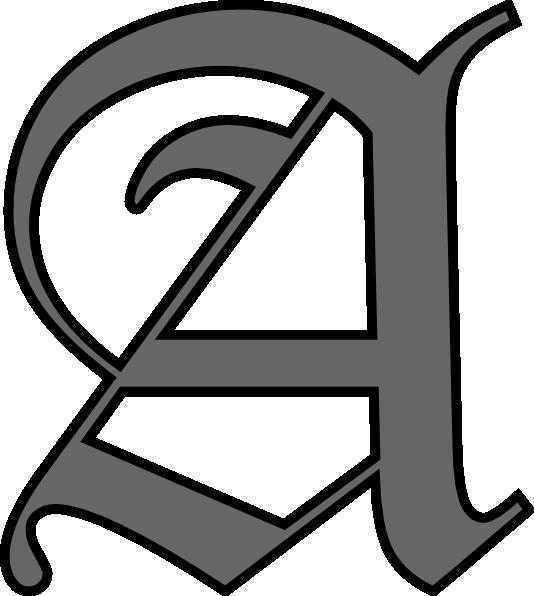 Alphabet Letter Designs Art: Fancy Letter P