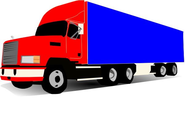 free clip art cartoon trucks - photo #11