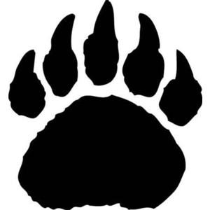 Clip Art Bear Paw Clip Art polar bear paw print clipart best clip art