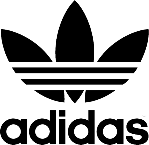 adidas logo no background clipart best