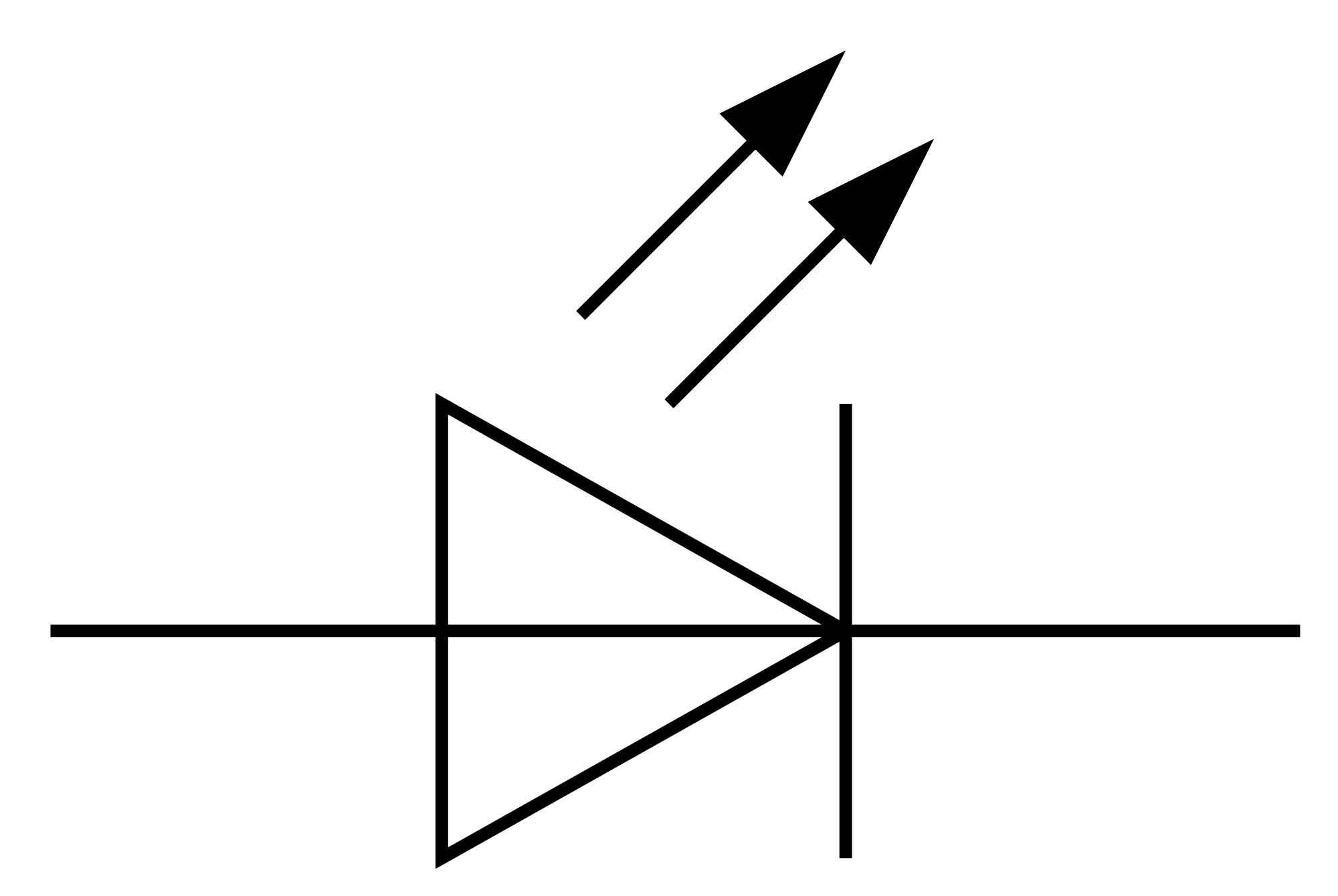 led schematic symbol