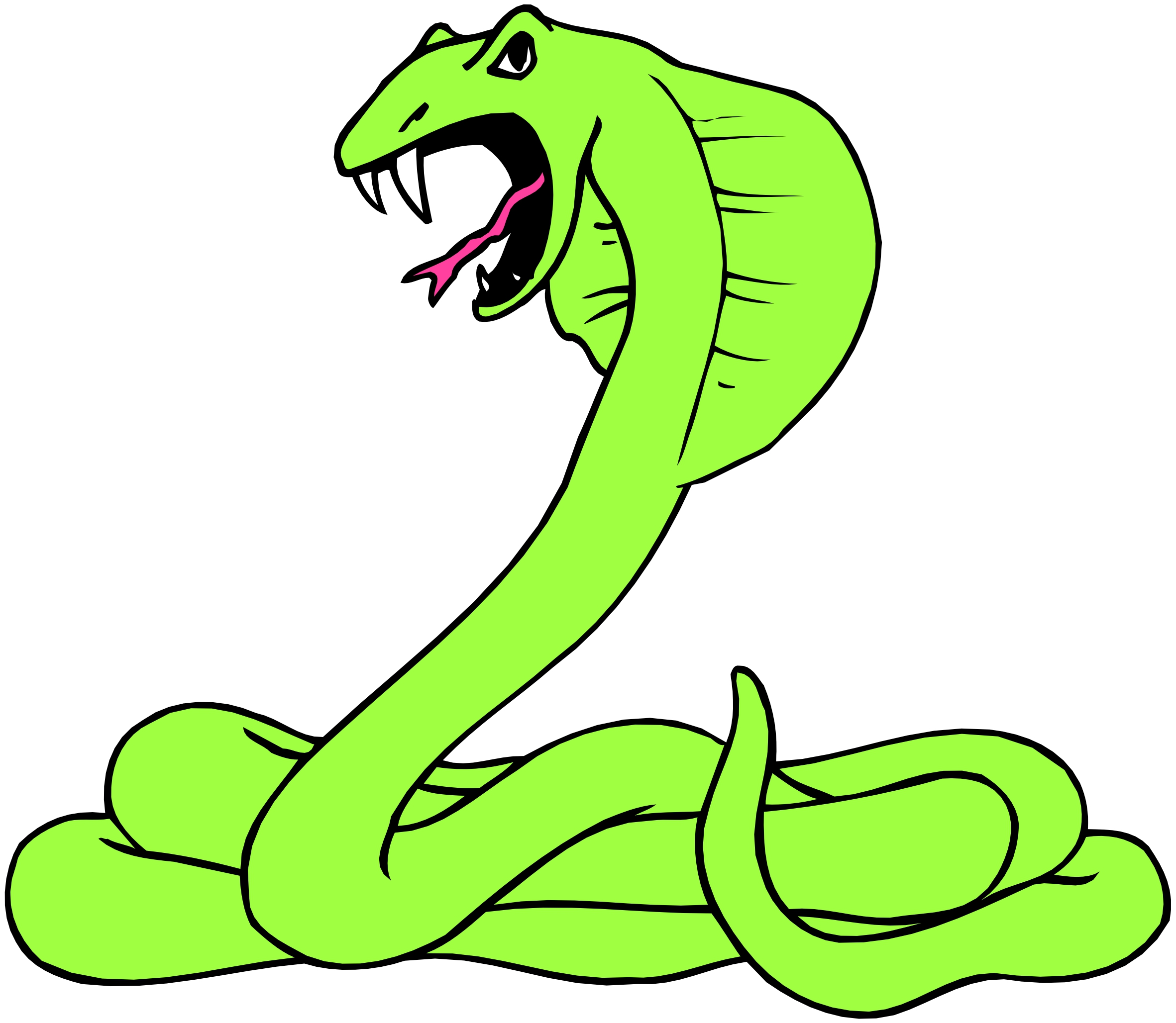 Free Cartoon Snake Clipart