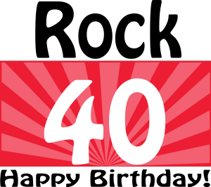 Happy Birthday Rock 40 Clipart Best Clipart Best