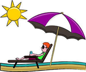 Man relaxing on a chase lounge chair clipart best clipart best