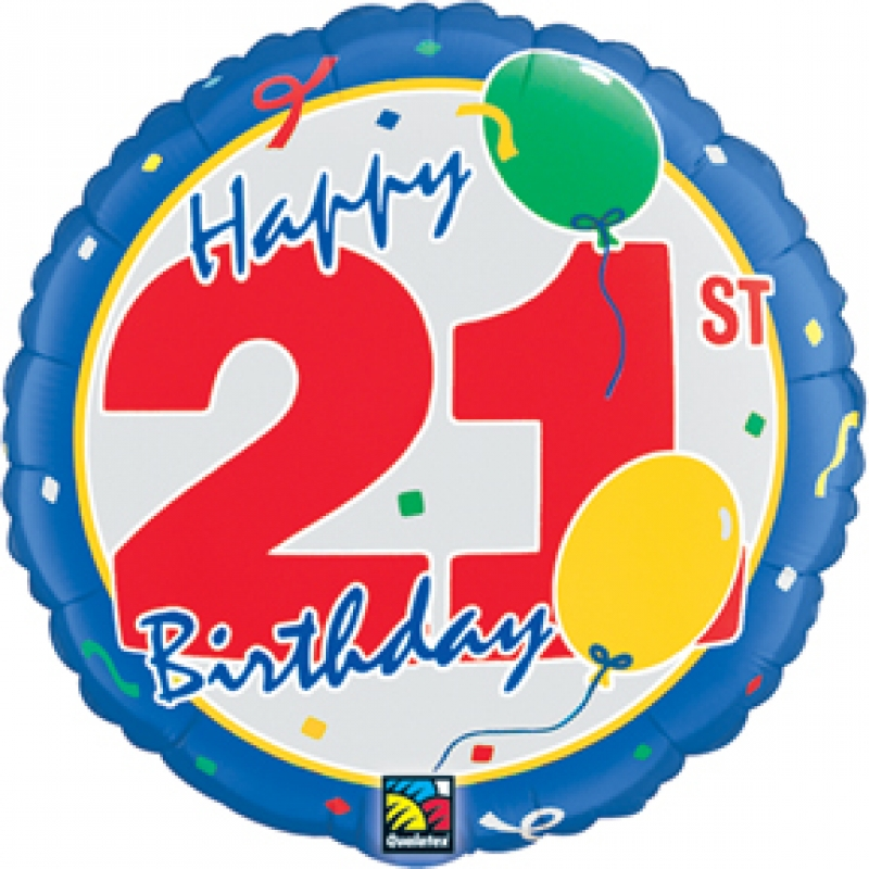 Happy 21st Birthday Mylar: Parties 2 Order - ClipArt Best - ClipArt ...