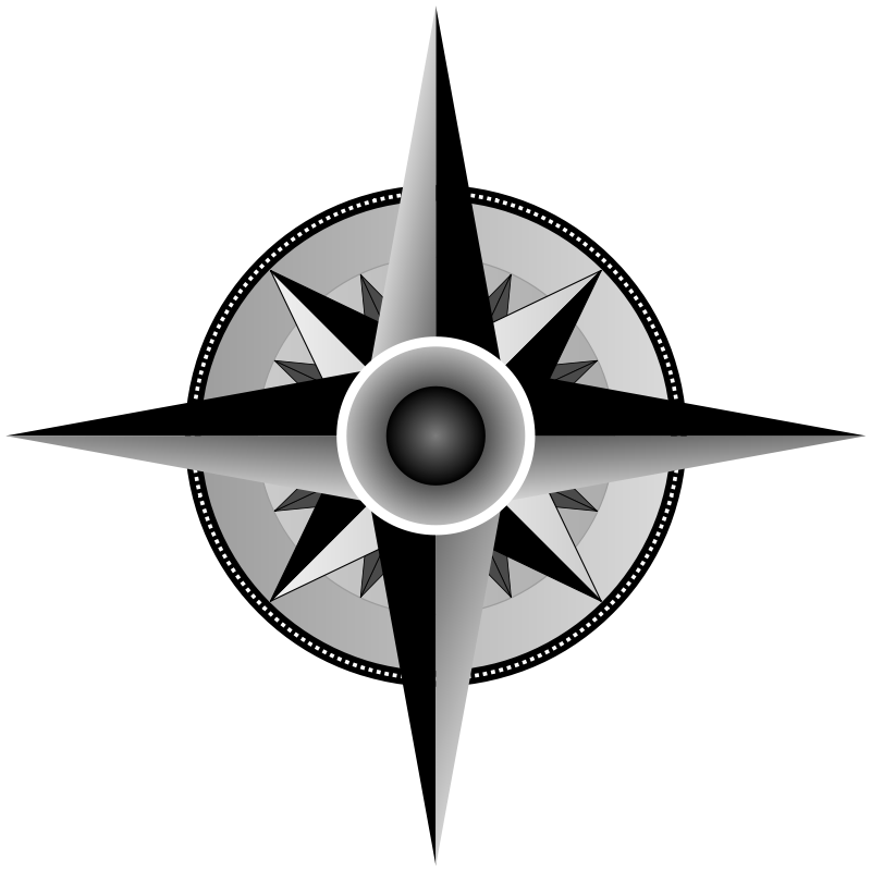 Picture Of A Compass Rose