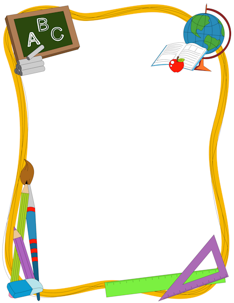 free clip art borders school - photo #1