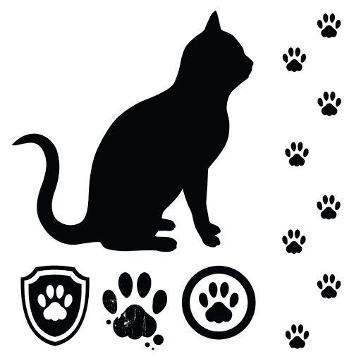Footprint Of Cat - ClipArt Best