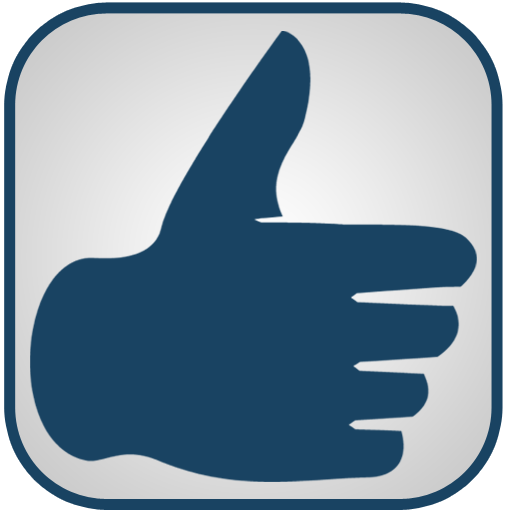 Blue And White Thumbs Up Icon, PNG ClipArt Image - ClipArt ...