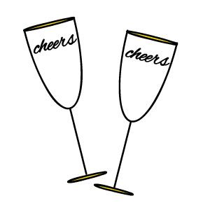 Picture Of Champagne Glass Clipart Best