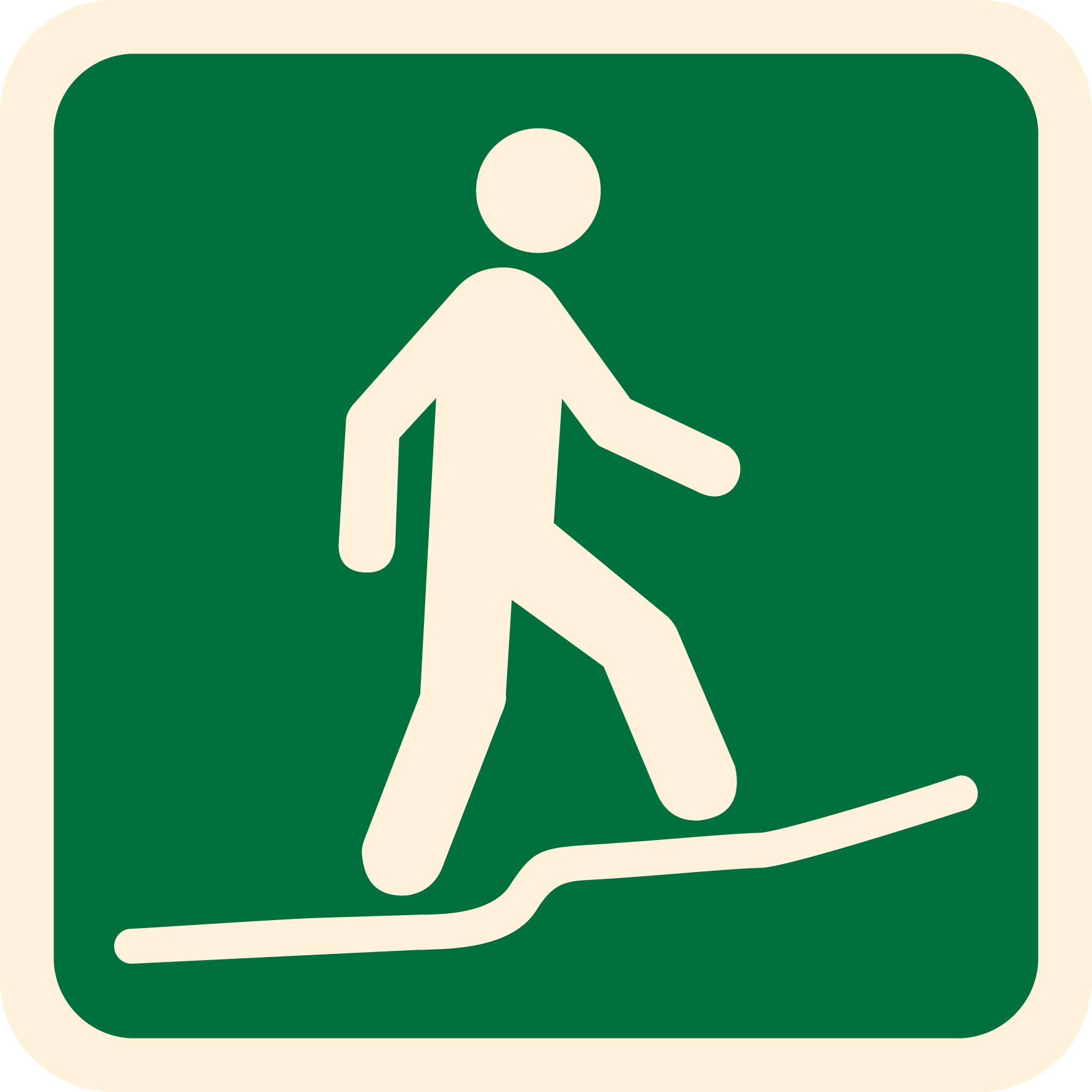 Walk Symbol - ClipArt Best