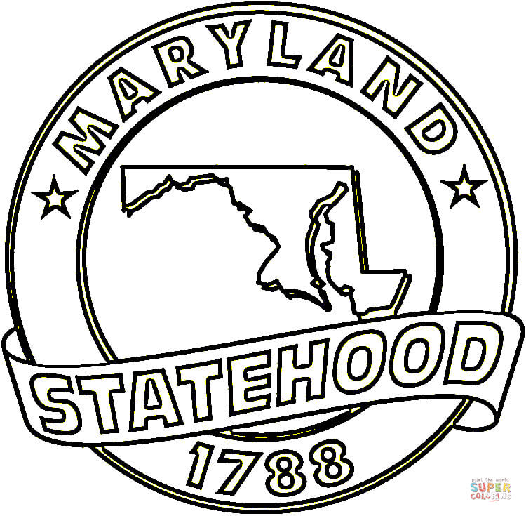 Florida state flag black and white clipart best for Florida flag coloring page