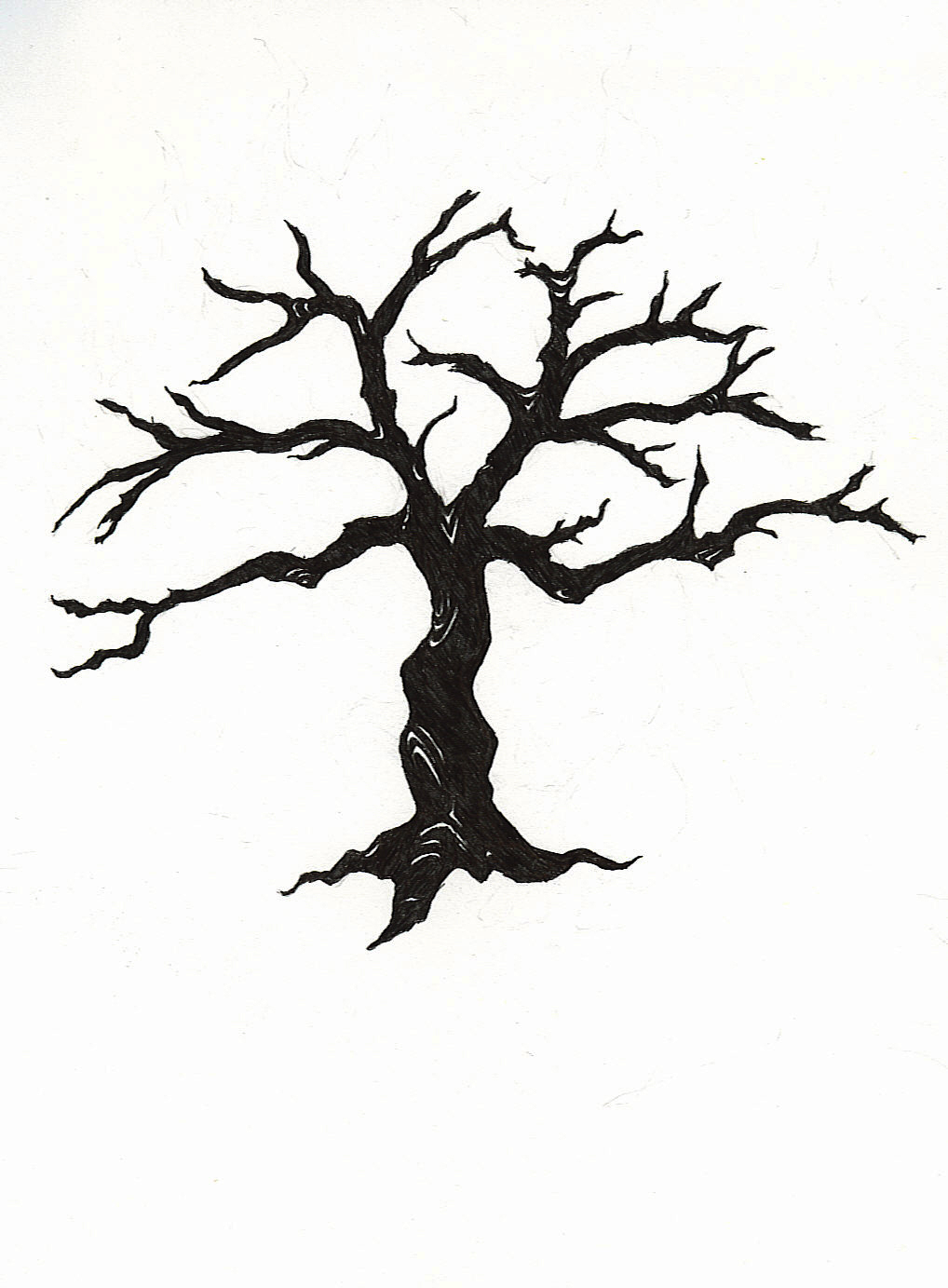 clip art dying tree - photo #21