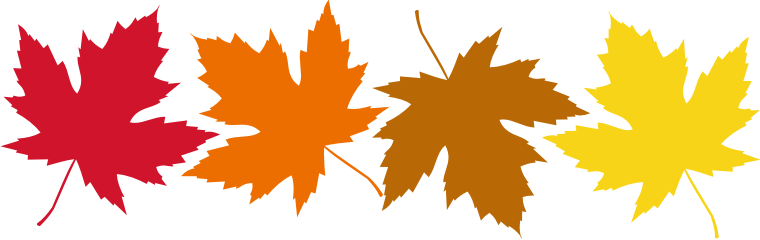 Free Clip Art Fall Leaves - Tumundografico