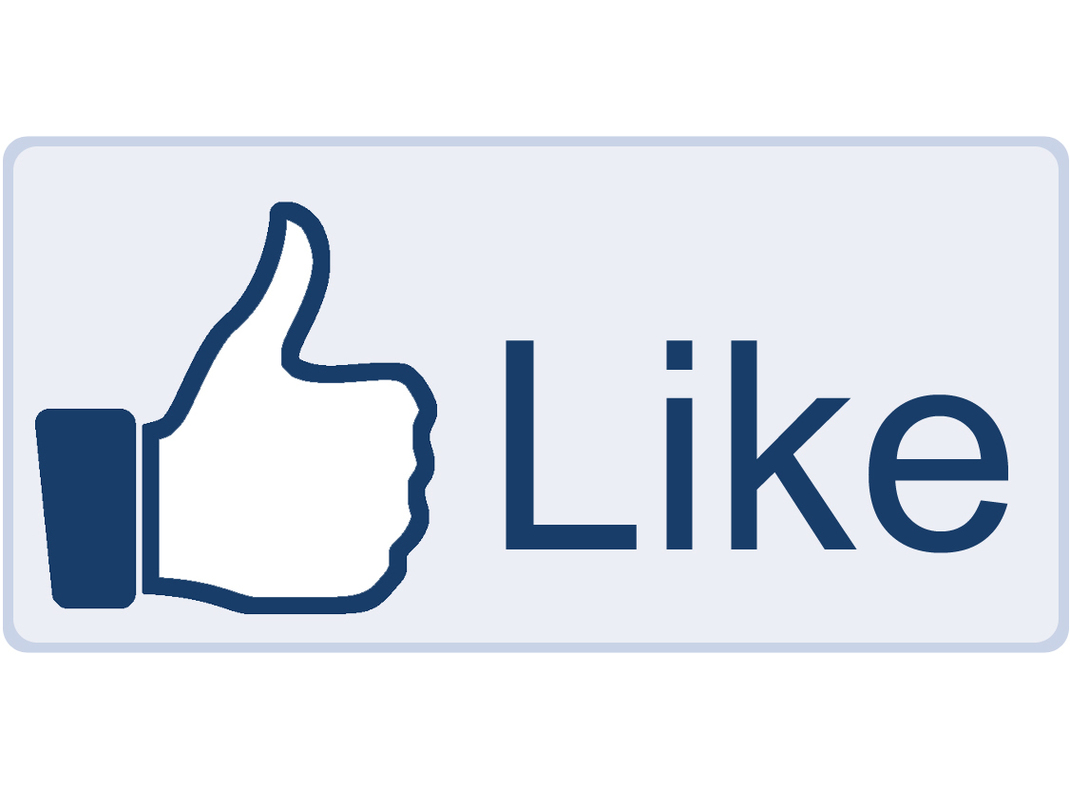 Facebook Like Icon Vector