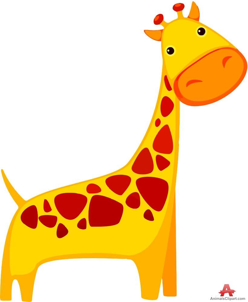 Cute Giraffe Cartoon - ClipArt Best