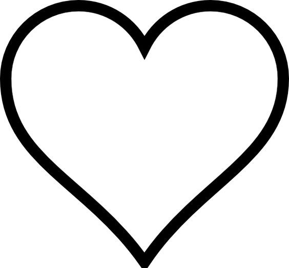 Black And White Heart Stencil Designs Pictures to Pin on ...