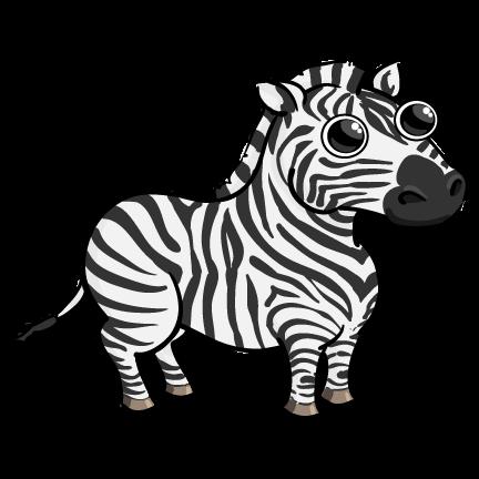 Clipart Of Cartoon Zebras - ClipArt Best