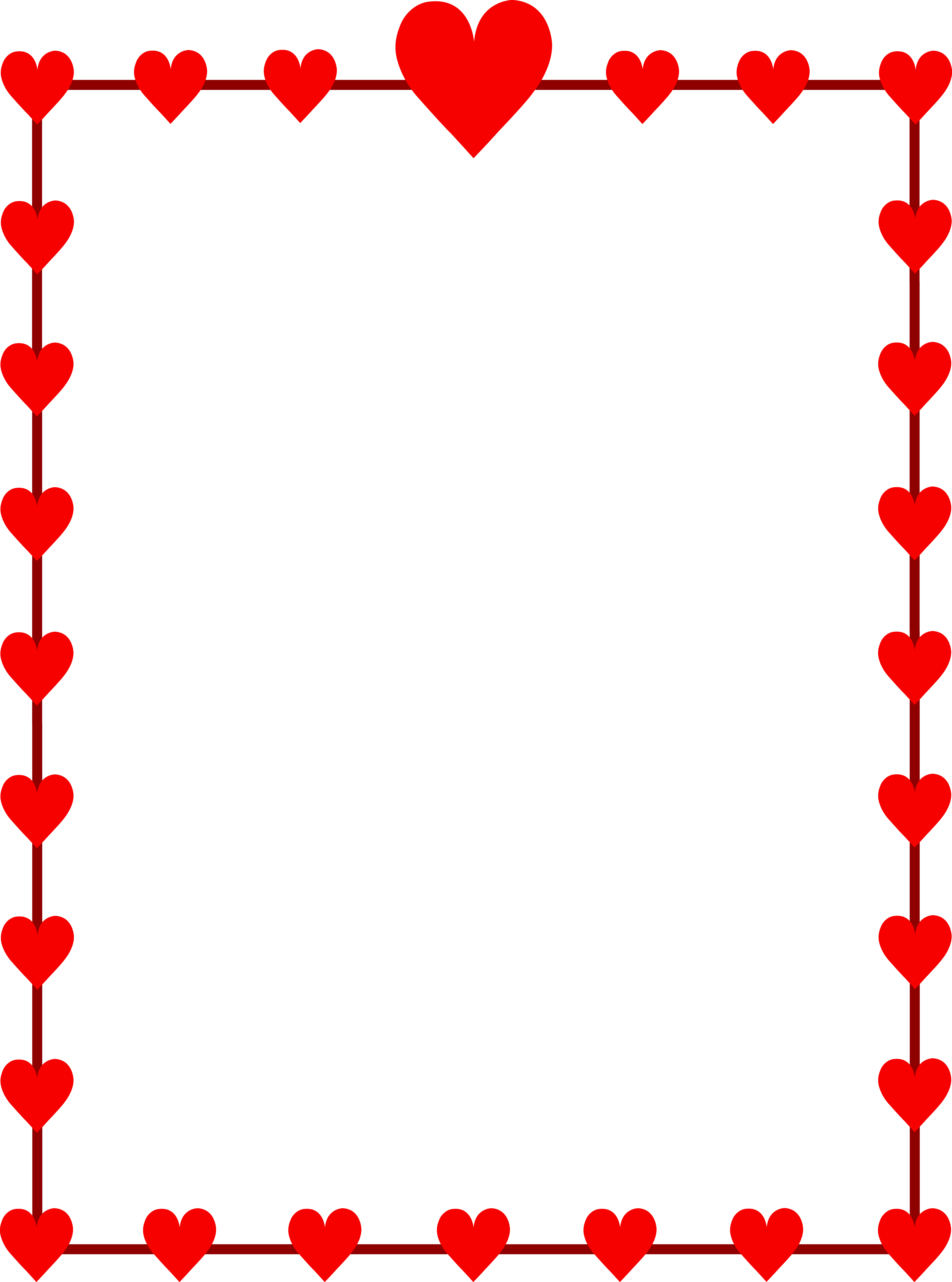 27 love heart page border . Free cliparts that you can download to you ...