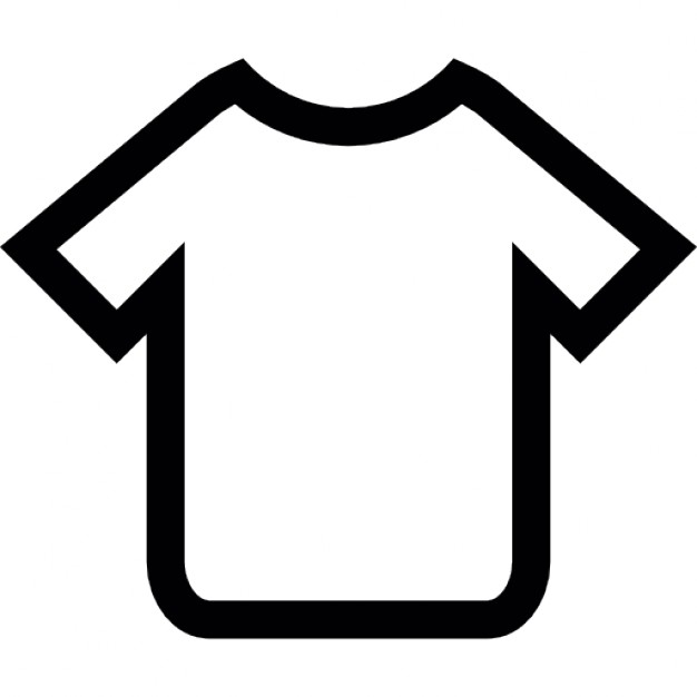 T-shirt outline Icons | Free Download