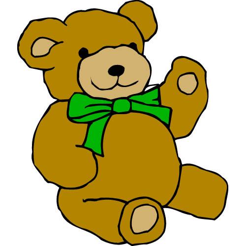 Teddy bear clip art free clipart best - Free teddy bear pics ...