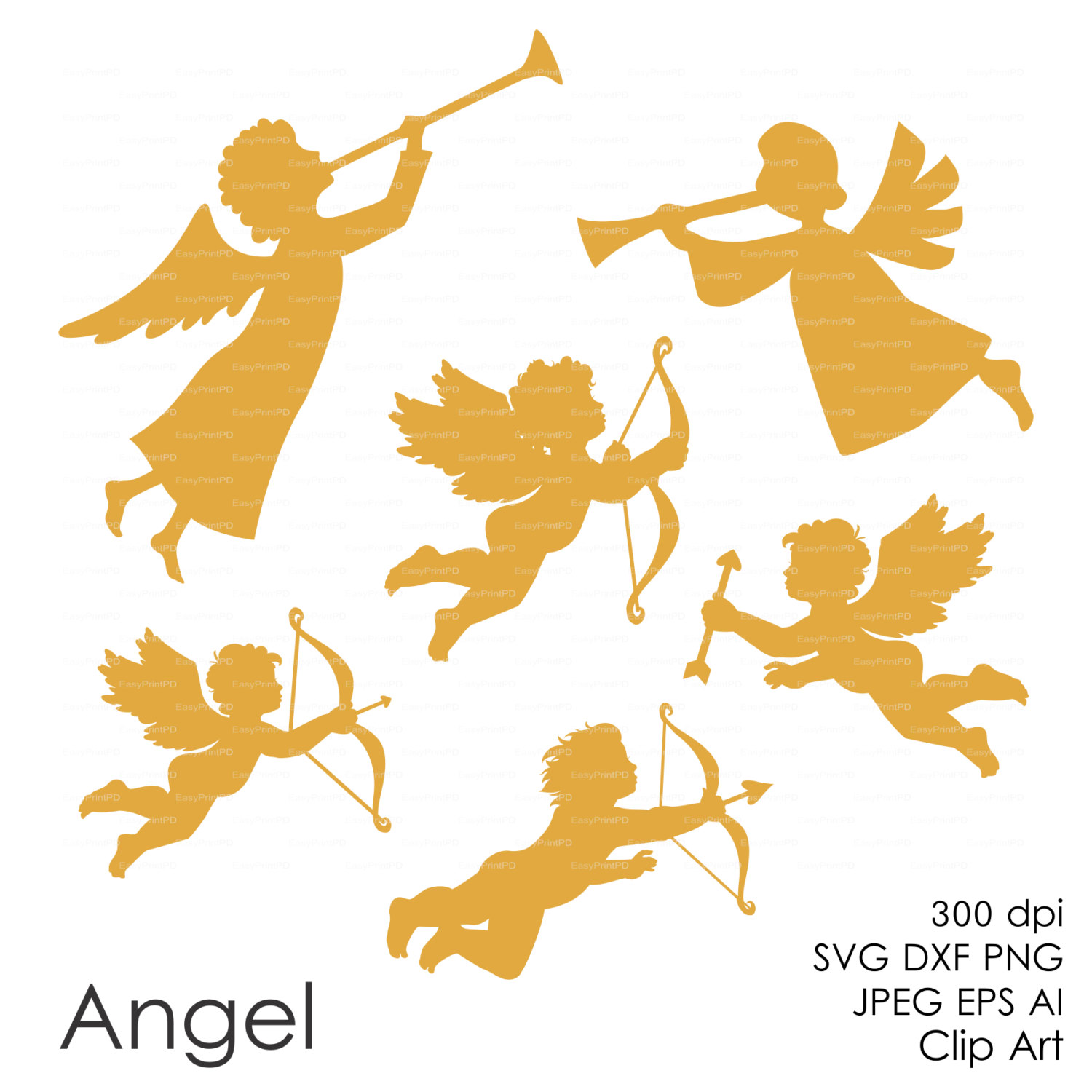 Cupid Wings Clipart Best