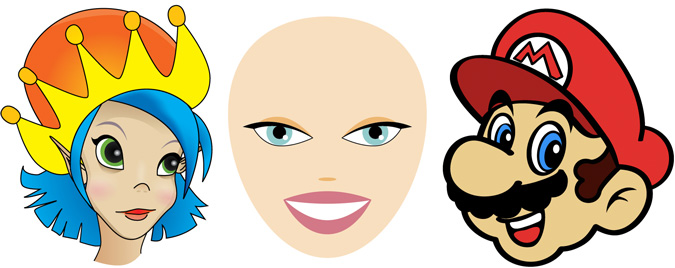 Cartoon Characters Faces : Cartoon people faces clipart best