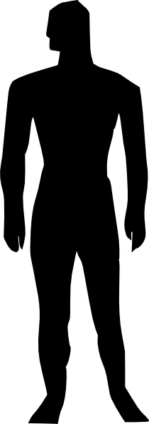 clipart of a human body - photo #49
