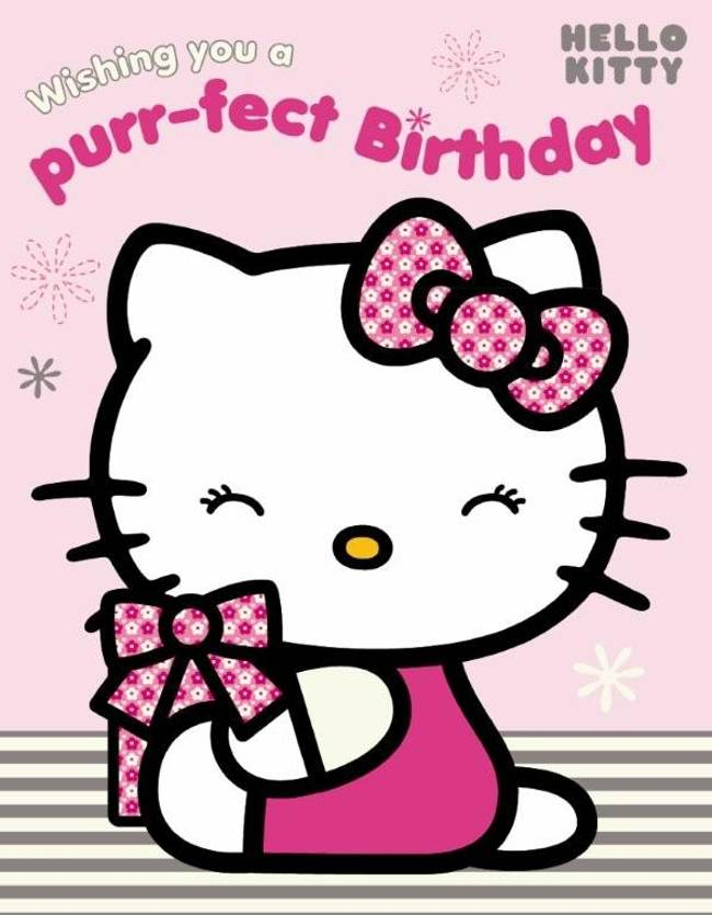 Ascii Hello Kitty Happy Birthday Free Reference Images