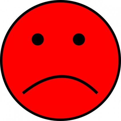 26 red frowny face clip art . Free cliparts that you can download to ...